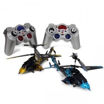 Hélicoptère de combat lot de 2