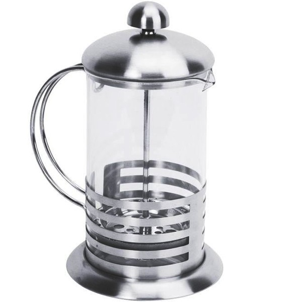 Cafeti re piston inox 600 ml equinox - Utilisation cafetiere a piston ...