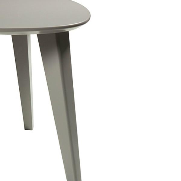 Set 3 tables basses gigognes blanc noir gris demeyere - Tables basses gigognes ...