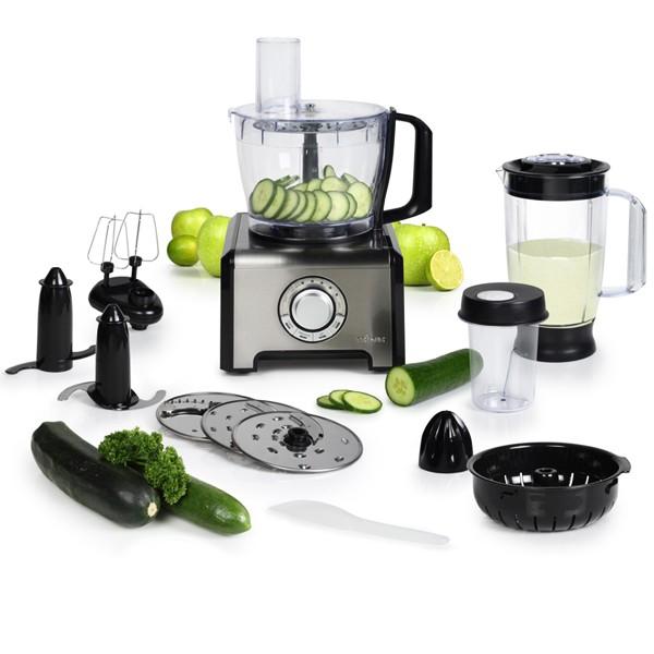 Robot de cuisine multifonction 800w 12 fonctions tristar for Robot cuisine multifonctions