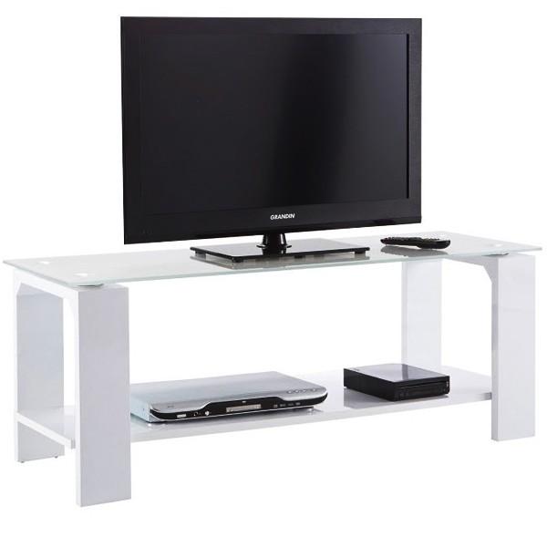 meuble banc tv 120cm bercy. Black Bedroom Furniture Sets. Home Design Ideas