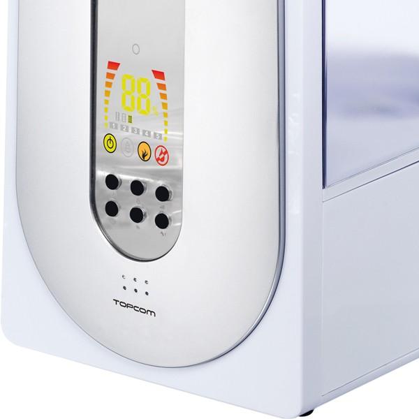 humidificateur lectrique ultrasonique vapeur d 39 eau chaude et ionisateur int gr. Black Bedroom Furniture Sets. Home Design Ideas