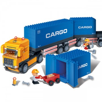 Blocs de construction camion et docker