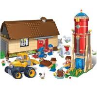 Blocs de construction grange, avec accessoires