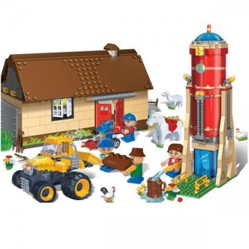 Blocs de construction d'une ferme