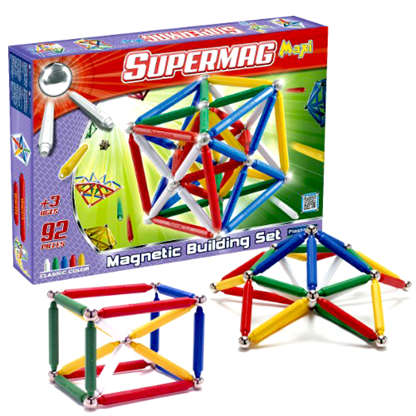Jeu de construction supermag maxi classic 92 plastwood for Jeu de construction de maison virtuel