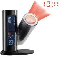 Station météo projection heure et fonction réveil