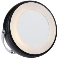 Miroir grossissant lumineux 2 faces