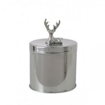 Boîte décorative couvercle tête de Cerf