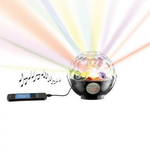haut parleur boule disco bluetooth clip sonic technology. Black Bedroom Furniture Sets. Home Design Ideas