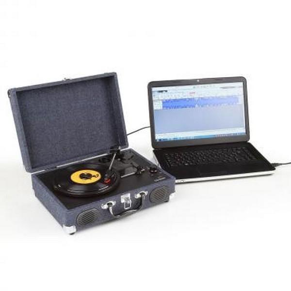 tourne disque avec encodeur clip sonic technology. Black Bedroom Furniture Sets. Home Design Ideas