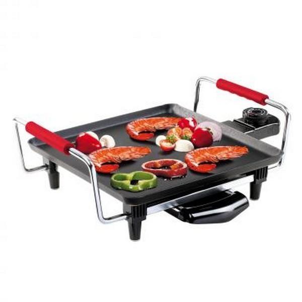 Cuisine appareils domoclip plancha grill barbecue lectrique or cuisine app - Mini plancha electrique ...