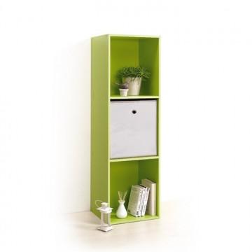 Module 3 cubes rangement vert