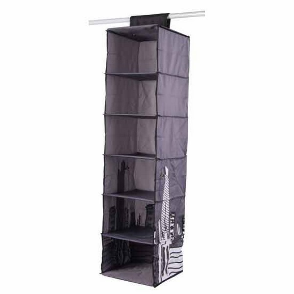 rangement penderie 6 cases house box. Black Bedroom Furniture Sets. Home Design Ideas