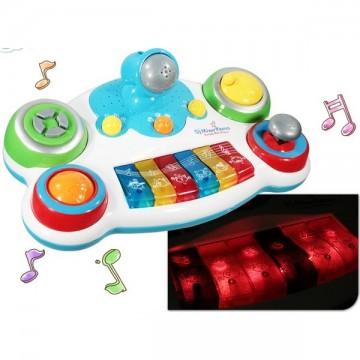 Piano enfant son et lumières