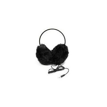 Casque cache-oreille noir