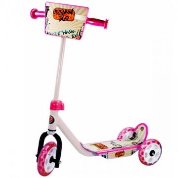 Trottinette enfant 3 roues rose