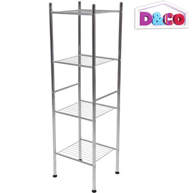 etagere metallique salle de bain. Black Bedroom Furniture Sets. Home Design Ideas