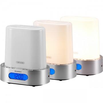 Lampe luminothérapie radio réveil