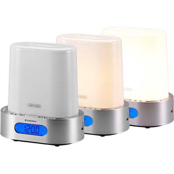 lampe radio r veil par lumi re naturelle croissante ou sons naturels magasin insolite. Black Bedroom Furniture Sets. Home Design Ideas