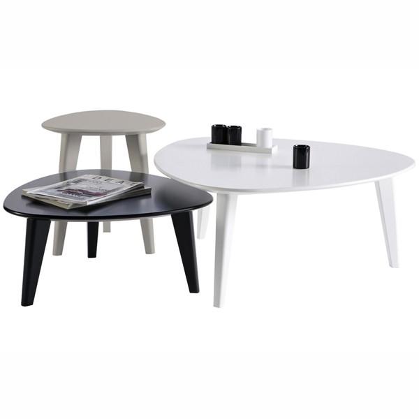 set 3 tables basses