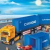 Blocs construction camion
