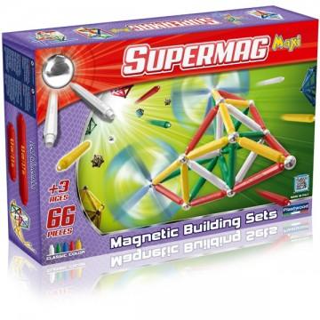 Jeux supermag maxi 66 pièces
