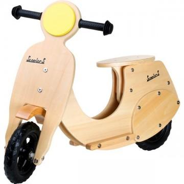 Scooter en bois