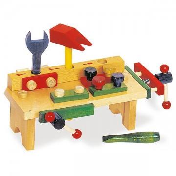 Etabli en bois enfant