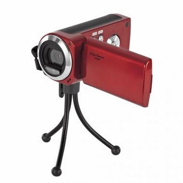 Caméra numérique 5M pixels rouge