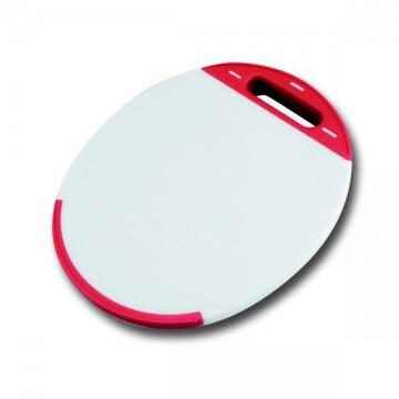 Planche à découper ovale polyéthylène