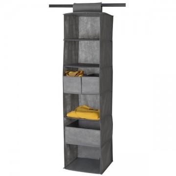 Range vêtements 6 cases