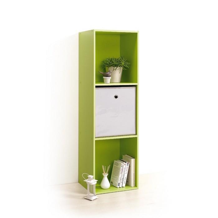 Module 3 Cubes Rangement Vert Modul Home