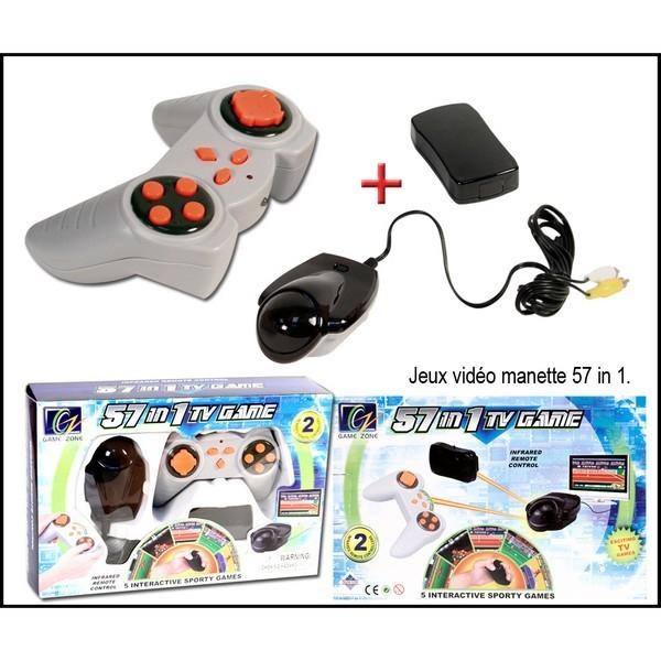Console de Jeux TV 57 en 1