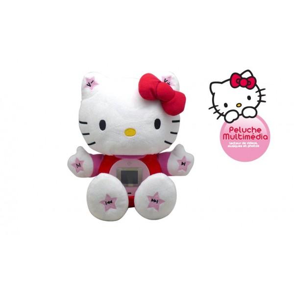 Peluche Hello Kitty multimédia
