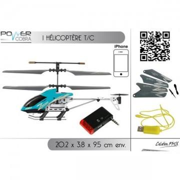 Hélicoptère télécommandé Ipod