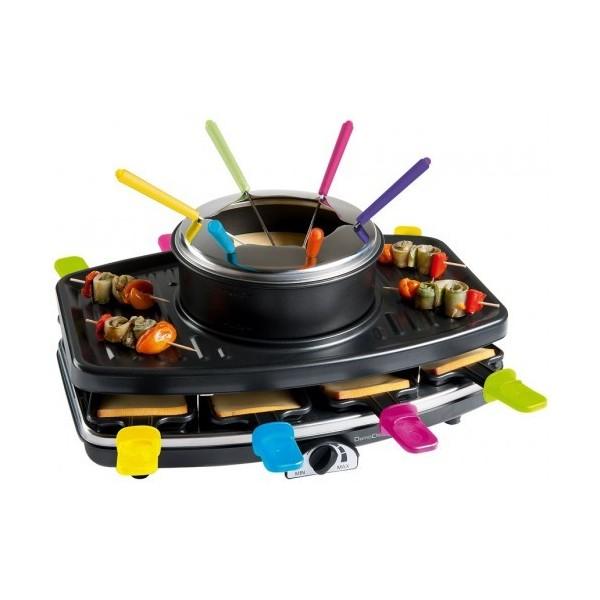 Appareil à raclette fondue et grill