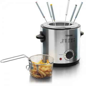 Friteuse fondue 2 en 1 électrique