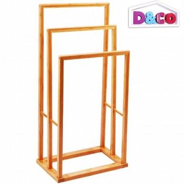 Porte serviette salle de bain bambou